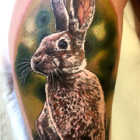 hare tattoo