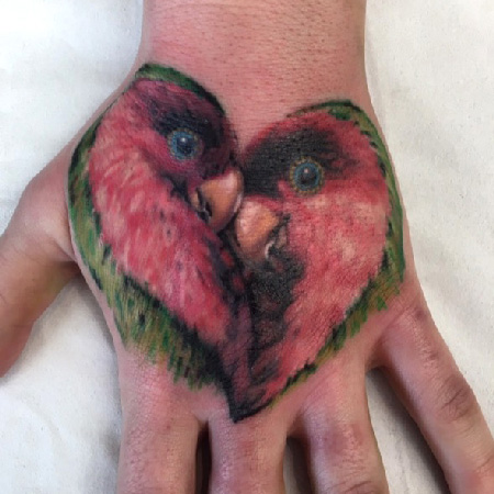 parakeet tattoo